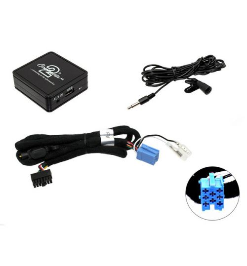 Connects2 Bluetooth A2DP Interfaces Adaptor for Alfa Romeo - CTAARBT001