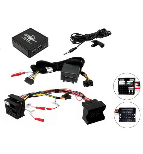 Connects2 Bluetooth A2DP Interfaces Adaptor for BMW - CTABMBT009