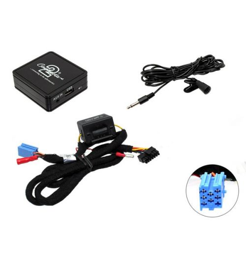 Connects2 Bluetooth A2DP Interfaces Adaptor for Renault - CTARNBT003