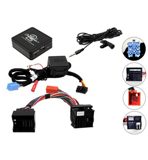 Connects2 Bluetooth A2DP Interfaces Adaptor for Renault - CTARNBT005