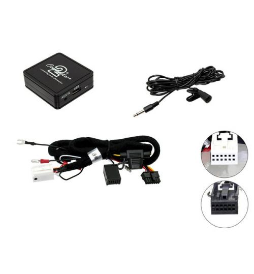 Connects2 Bluetooth A2DP Interfaces Adaptor for Seat - CTASTBT002