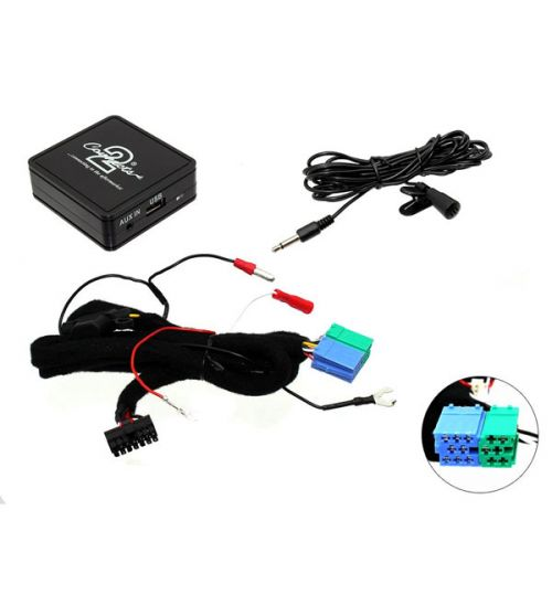 Connects2 Bluetooth A2DP Interfaces Adaptor for Seat - CTASTBT003