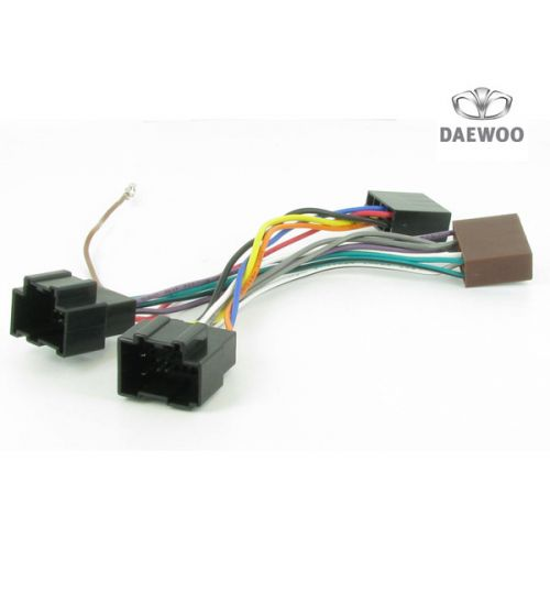 Connects2 Stereo Wiring Harness Adaptor ISO Lead For Daewoo - CT20DW04