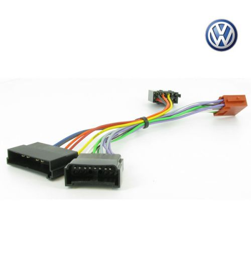 Connects2 Stereo Wiring Harness Adaptor ISO Lead For Volkswagen - CT20FD02