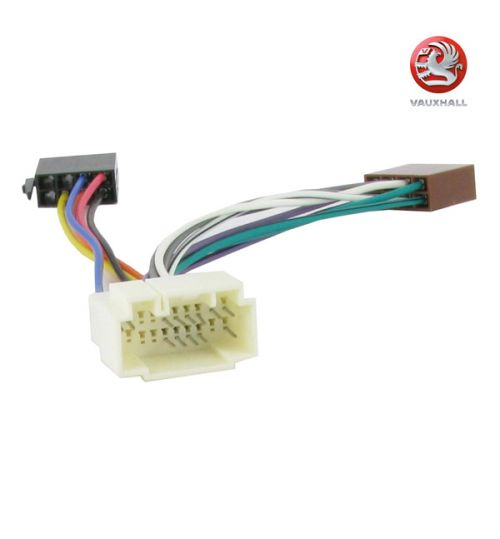 Connects2 Stereo Wiring Harness Adaptor ISO Lead For Vauxhall - CT20HD02