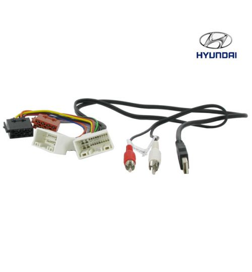 Connects2 Stereo Wiring Harness Adaptor ISO Lead For Hyundai - CT20HY05