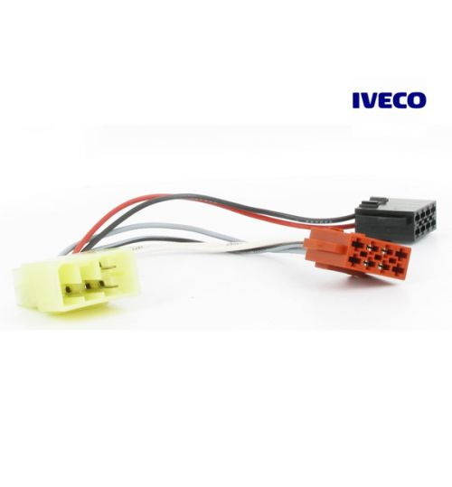 Connects2 Stereo Wiring Harness Adaptor ISO Lead For Iveco - CT20IV01