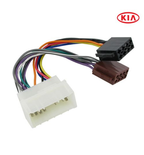 Connects2 Stereo Wiring Harness Adaptor ISO Lead For Kia - CT20KI02