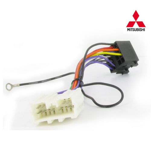 Connects2 Stereo Wiring Harness Adaptor ISO Lead For Mitsubishi - CT20MT02