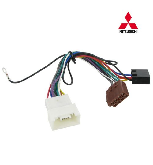 Connects2 Stereo Wiring Harness Adaptor ISO Lead For Mitsubishi - CT20MT03