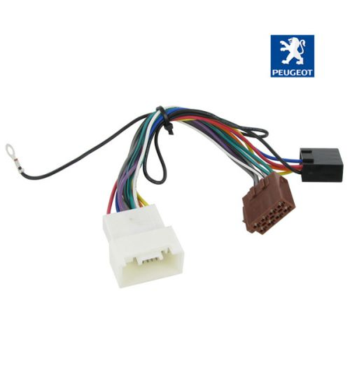 Connects2 Stereo Wiring Harness Adaptor ISO Lead For Peugeot - CT20MT03