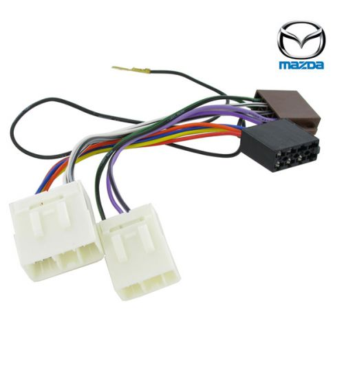Connects2 Stereo Wiring Harness Adaptor ISO Lead For Mazda - CT20MZ01