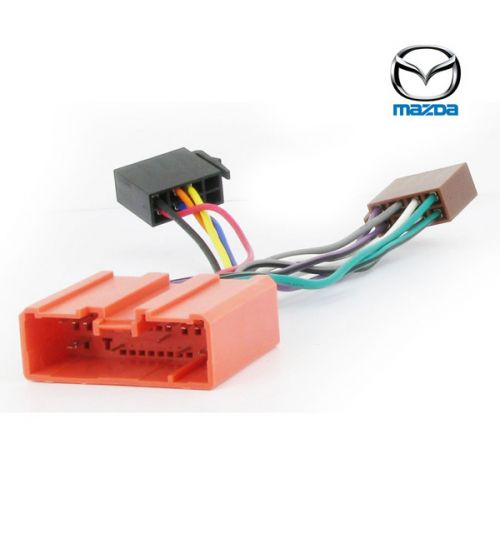 Connects2 Stereo Wiring Harness Adaptor ISO Lead For Mazda - CT20MZ02