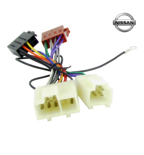 Connects2 Stereo Wiring Harness Adaptor ISO Lead For Nissan - CT20NS01
