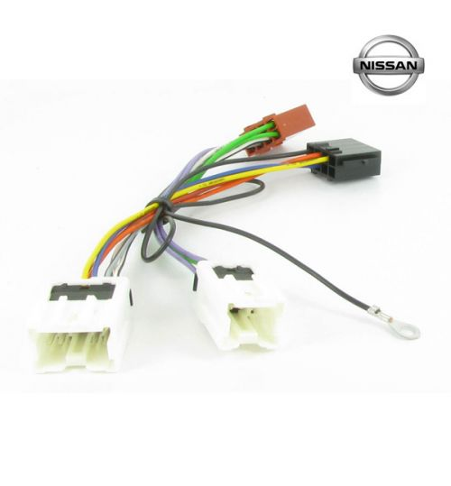 Connects2 Stereo Wiring Harness Adaptor ISO Lead For Nissan - CT20NS03