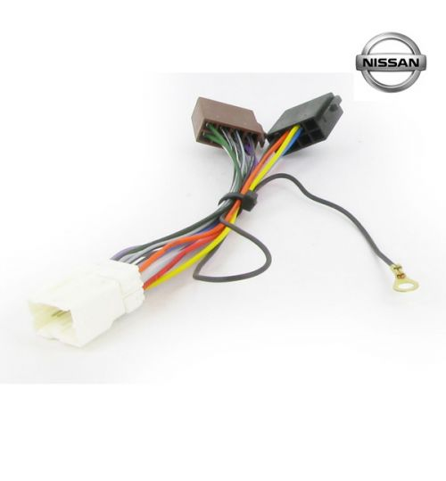 Connects2 Stereo Wiring Harness Adaptor ISO Lead For Nissan - CT20NS04