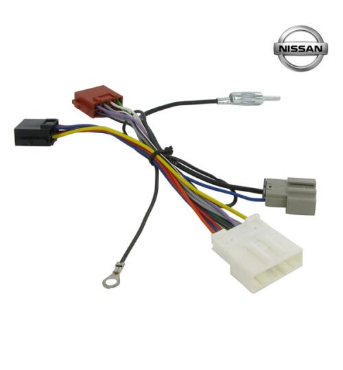 Connects2 Stereo Wiring Harness Adaptor ISO Lead For Nissan - CT20NS06