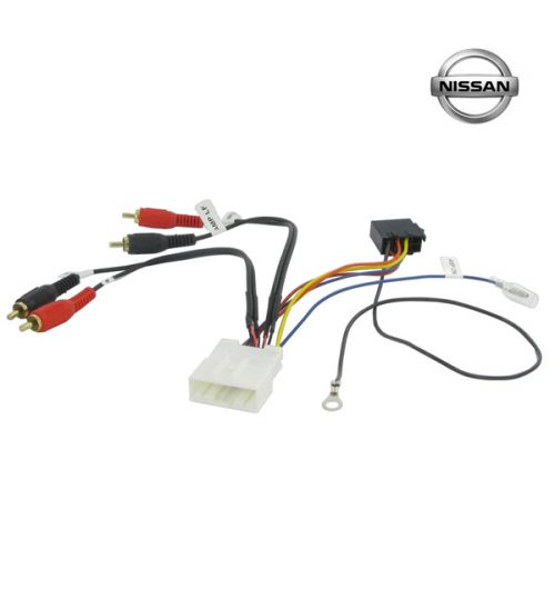 Connects2 Stereo Wiring Harness Adaptor ISO Lead For Nissan - CT20NS07