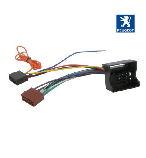 Connects2 Stereo Wiring Harness Adaptor ISO Lead For Peugeot - CT20PE02