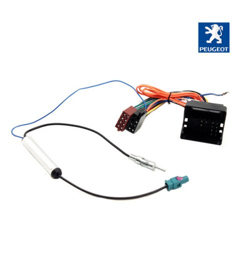 Connects2 Stereo Wiring Harness Adaptor ISO Lead For Peugeot - CT20PE03