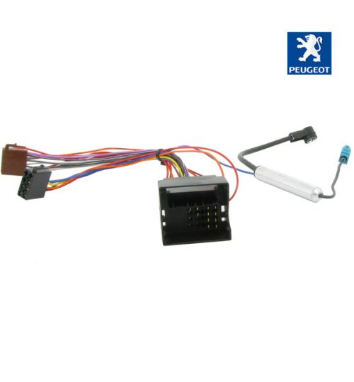 Connects2 Stereo Wiring Harness Adaptor ISO Lead For Peugeot - CT20PE04