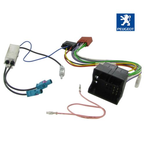 Connects2 Stereo Wiring Harness Adaptor ISO Lead For Peugeot - CT20PE05