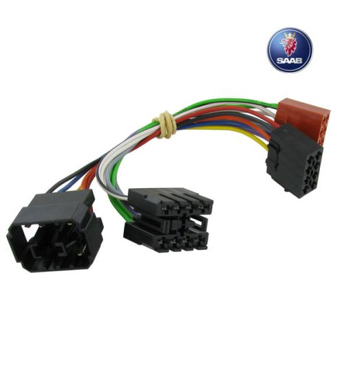 Connects2 Stereo Wiring Harness Adaptor ISO Lead For Saab - CT20SA02