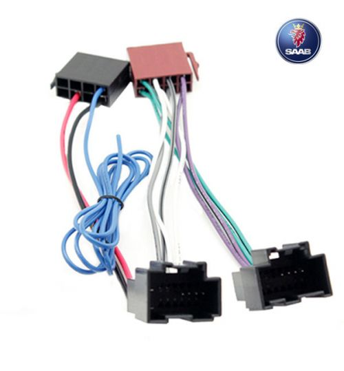 Connects2 Stereo Wiring Harness Adaptor ISO Lead For Saab - CT20SA03