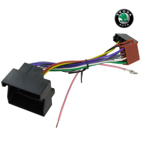 Connects2 Stereo Wiring Harness Adaptor ISO Lead For Skoda - CT20SK01