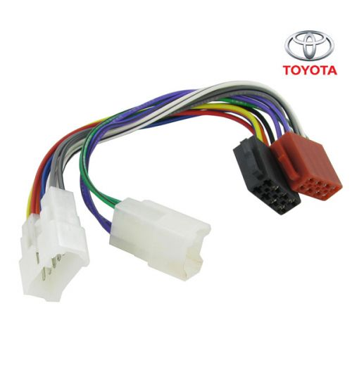 Connects2 Stereo Wiring Harness Adaptor ISO Lead For Toyota - CT20TY01