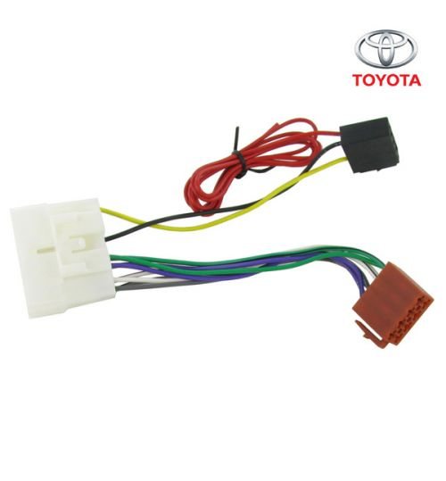 Connects2 Stereo Wiring Harness Adaptor ISO Lead For Toyota - CT20TY02