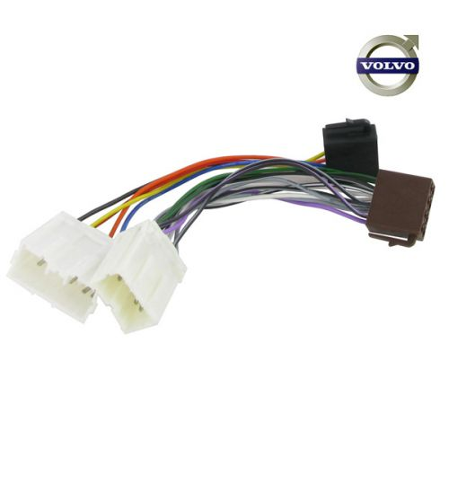 Connects2 Stereo Wiring Harness Adaptor ISO Lead For Volvo - CT20VL01