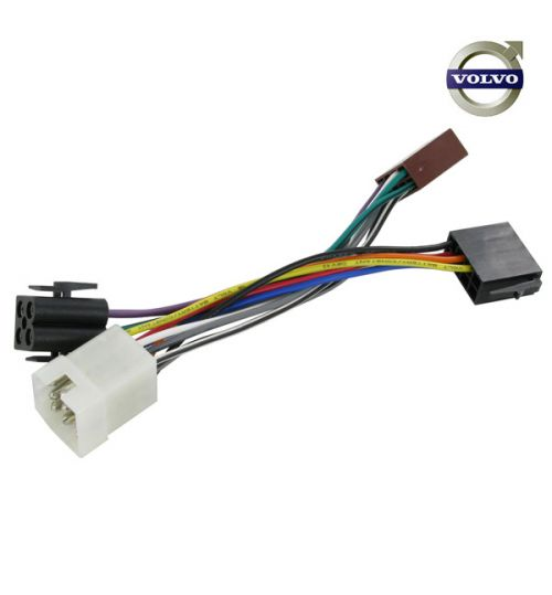 Connects2 Stereo Wiring Harness Adaptor ISO Lead For Volvo - CT20VL03