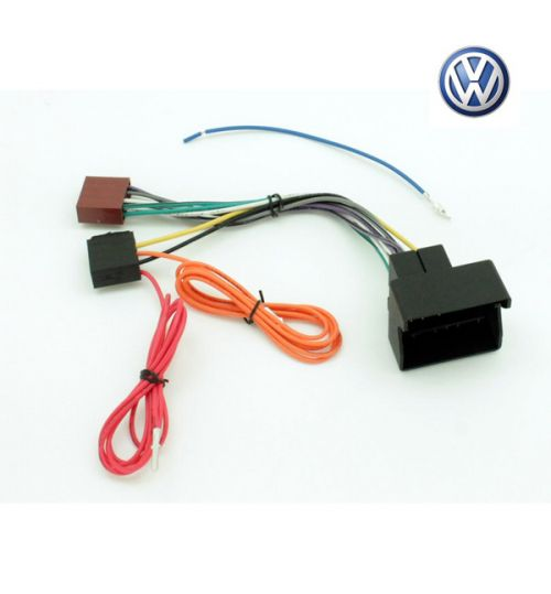 Connects2 Stereo Wiring Harness Adaptor ISO Lead For Volkswagen - CT20VW01