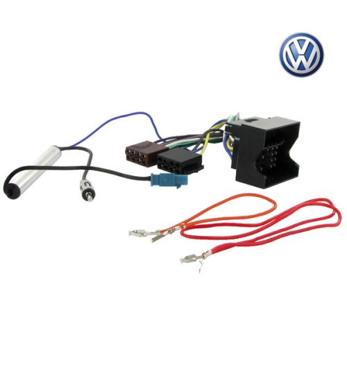 Connects2 Stereo Wiring Harness Adaptor ISO Lead For Volkswagen - CT20VW02