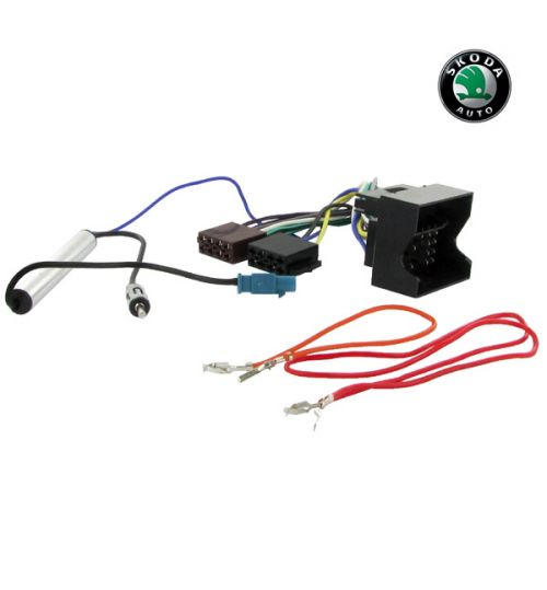 Connects2 Stereo Wiring Harness Adaptor ISO Lead For Skoda - CT20VW02