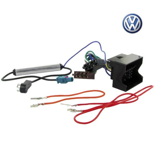 Connects2 Stereo Wiring Harness Adaptor ISO Lead For Volkswagen - CT20VW03