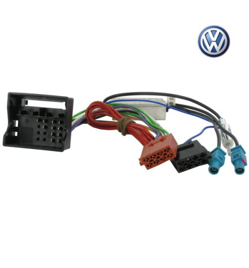 Connects2 Stereo Wiring Harness Adaptor ISO Lead For Volkswagen - CT20VW04