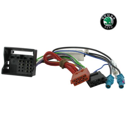 Connects2 Stereo Wiring Harness Adaptor ISO Lead For Skoda - CT20VW04