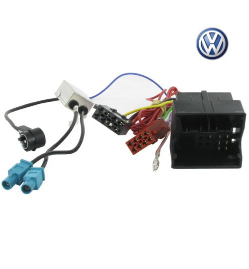 Connects2 Stereo Wiring Harness Adaptor ISO Lead For Volkswagen - CT20VW05
