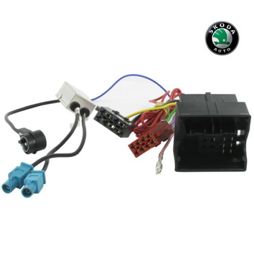 Connects2 Stereo Wiring Harness Adaptor ISO Lead For Skoda - CT20VW05