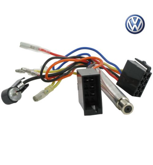 Connects2 Stereo Wiring Harness Adaptor ISO Lead For Volkswagen - CT20VW06
