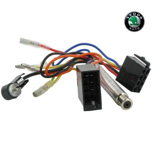 Connects2 Stereo Wiring Harness Adaptor ISO Lead For Skoda - CT20VW06