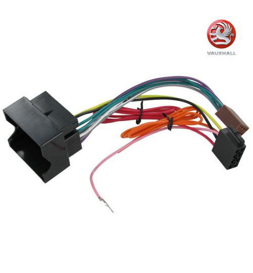 Connects2 Stereo Wiring Harness Adaptor ISO Lead For Vauxhall - CT20VX01
