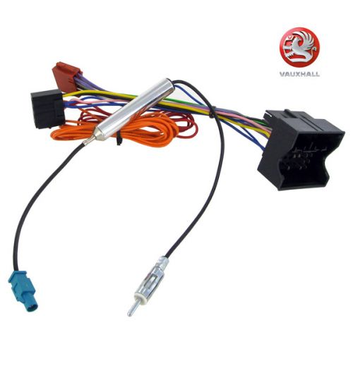 Connects2 Stereo Wiring Harness Adaptor ISO Lead For Vauxhall - CT20VX04