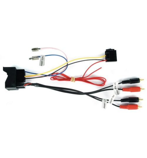 Connects2 CT51-AU05 - Audi A2, A3, A4, A6, TT Fully Amplified Active System Adaptor Lead