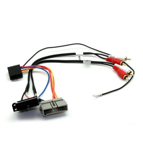 Connects2 Stereo Wiring Harness Adaptor ISO Lead For Jeep - CT51-CH01