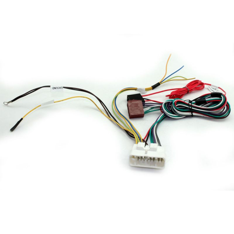 Connects stereo wiring harness adaptor iso lead for