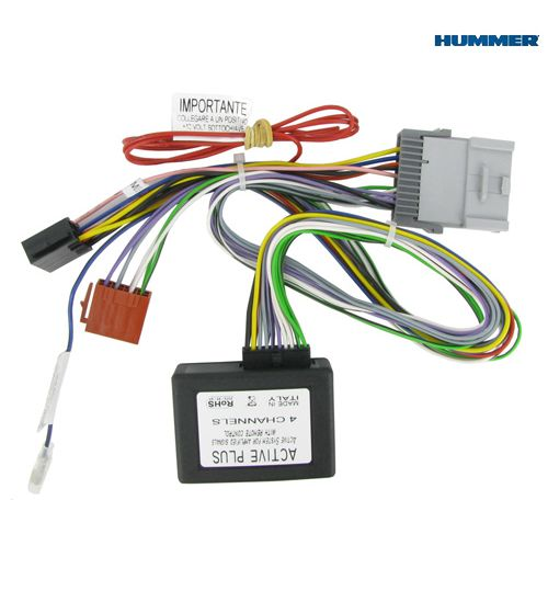 Connects2 Active System Amplifier Interface Adaptor For Hummer - CT53-HU01