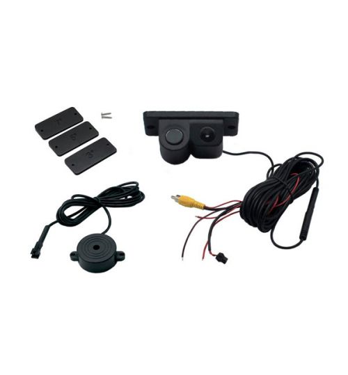 Connects2 CAM-10 - Universal 2 in 1 Reversing Solution with Video Parking Sensor and Camera